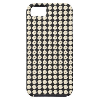 Black and Beige Abstract Pattern iPhone Case iPhone 5 Case