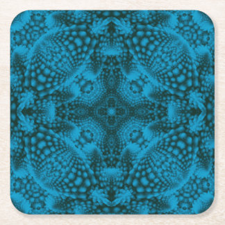Black And Blue Colorful Coasters