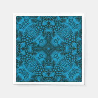 Black And Blue Colorful Cocktail Napkins Disposable Napkin