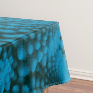 Black And Blue Colorful Cotton Tablecloth