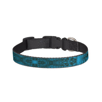 Black And Blue Colorful Dog Collars