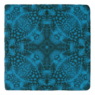 Black And Blue Colorful Trivet