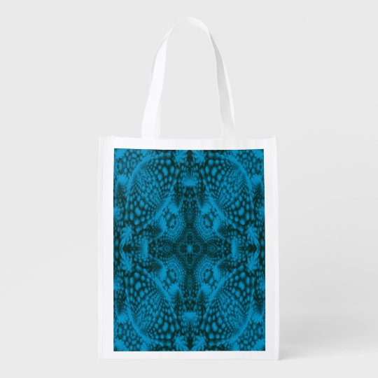 Black And Blue Colourful Reusable Bags Market Reusable Grocery Bags