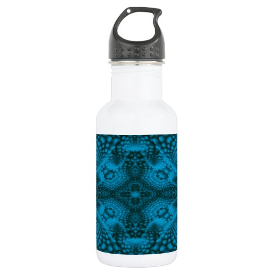 Black And Blue Colourful Water Bottles