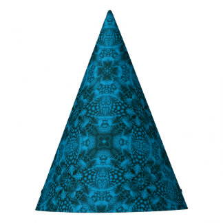 Black And Blue  Customizable Party Hats