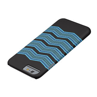 Black and Blue Geometric Case