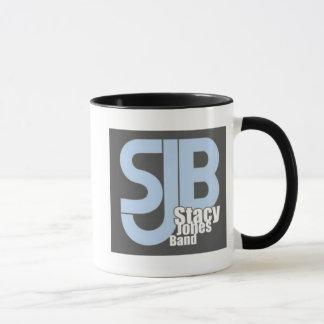 Black and Blue Logo Mug