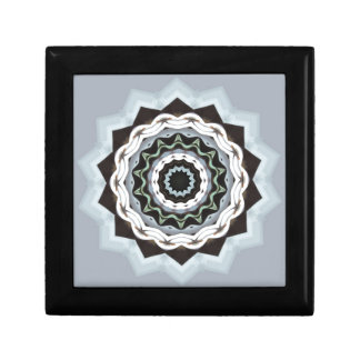 Black and Blue Mandala Gift Box