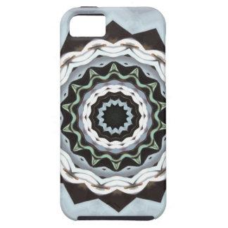 Black and Blue Mandala iPhone 5 Covers