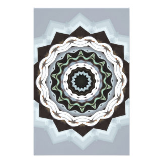 Black and Blue Mandala Stationery