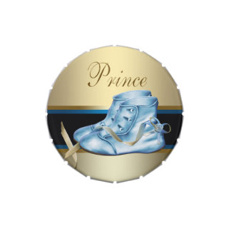 Black and Blue Prince Baby Shower Candy