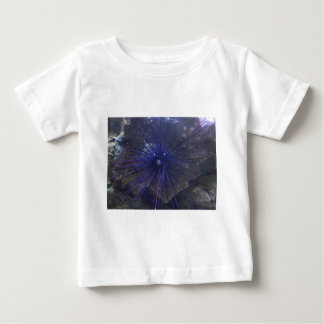 Black And Blue Sea Urchin Baby T-Shirt