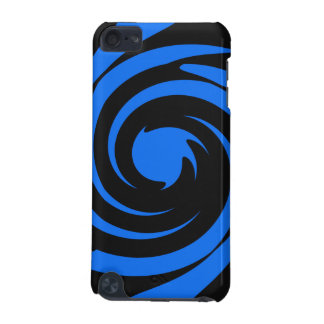 Black and blue swirl iPod touch (5th generation) cover