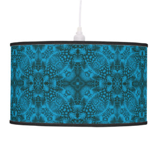 Black And Blue  Vintage  Pendant Lamp
