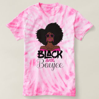 Black and Boujee African American Woman T-shirt