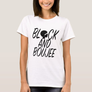 Black and Boujee Proud African American Tee shirt