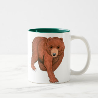 Black and Brown Bears Mug