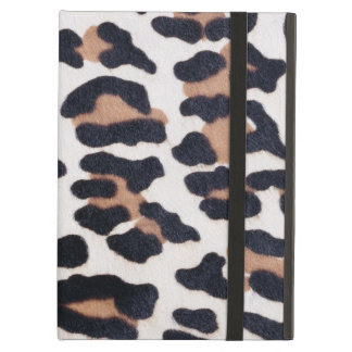 BLACK AND BROWN LEOPARD CASE FOR iPad AIR