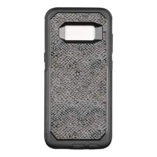 Black and Brown Snake Skin Pattern OtterBox Commuter Samsung Galaxy S8 Case