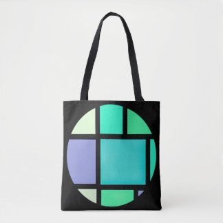 Black and colour bag