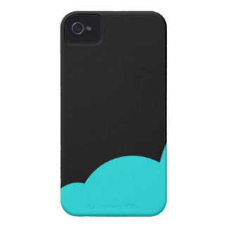 Black and cyan Case-Mate iPhone 4 cases