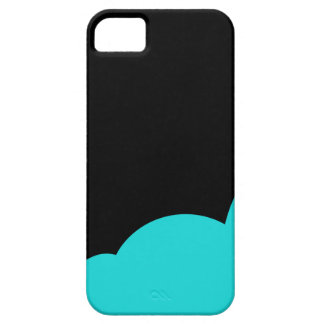 Black and cyan iPhone 5 covers