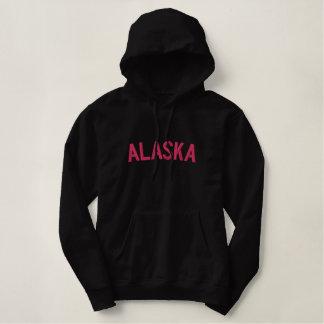 Black and Fuchsia Alaska Embroidered Shirt