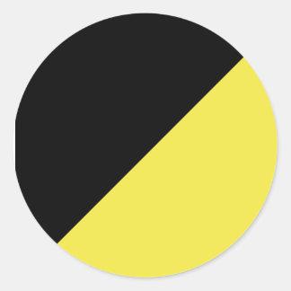 Black and Gold AnCap Sticker
