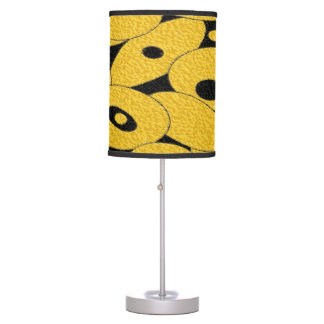 Black and Gold Bubble Orbs table lamp