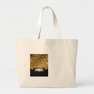 Black and Gold Bunco Accessories Tote Bag