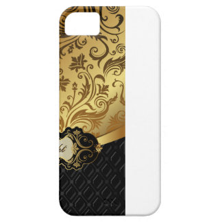 Black and Gold Bunco Accessories iPhone 5 Cases