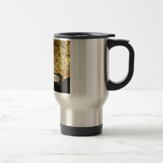 Black and Gold Bunco Accessories Coffee Mugs