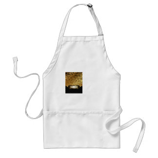 Black and Gold Bunco Accessories Standard Apron