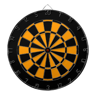 Black and Gold Dartboards