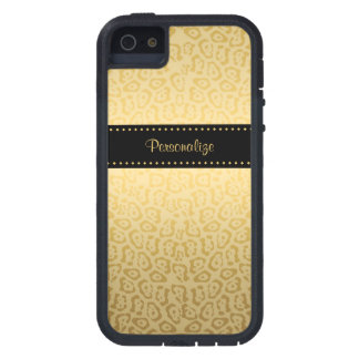 Black and Gold Jaguar iPhone 5 Cover