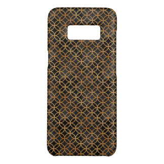 Black and Gold Seamless Pattern Case-Mate Samsung Galaxy S8 Case
