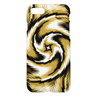 Black and Gold Swirls iPhone 8/7 Case