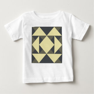 Black and gold triangles baby T-Shirt