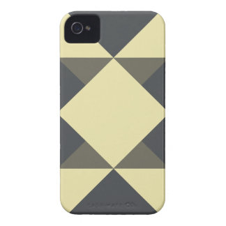 Black and gold triangles iPhone 4 Case-Mate case