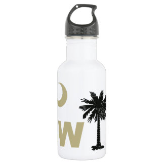 Black and Gold W South Carolina 532 Ml Water Bottle