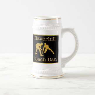 Black and Gold Wrestling Coach Mug Custom Orders