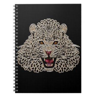 Black and Golden Tiger Notebook