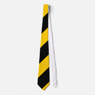 Black and Golden Yellow Tie
