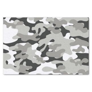 Black and Gray Camo Tissue Paper