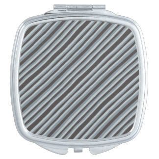 Black and Gray Compact Mirrors