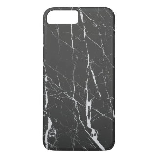 Black And Gray Marble iPhone 7 Plus Case