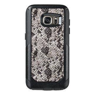 Black and Gray Snake Skin OtterBox Samsung Galaxy S7 Case