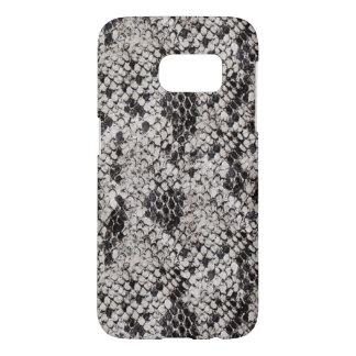 Black and Gray Snake Skin Samsung Galaxy S7 Case