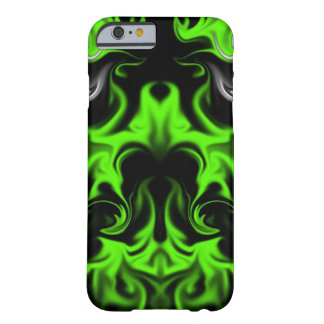 Black and Green Barely There iPhone 6 Case