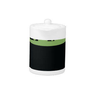 Black and Green Cooking Pot